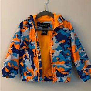 North Zone:Neon Camo Raincoat Size 2T